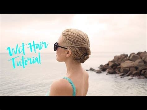 30+ Simple & Easy Hairstyles for Moms Using Wet Hair (Step
