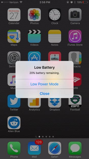 iphone displays the low battery image and is unresponsive why is my iphone battery icon yellow solve your tech