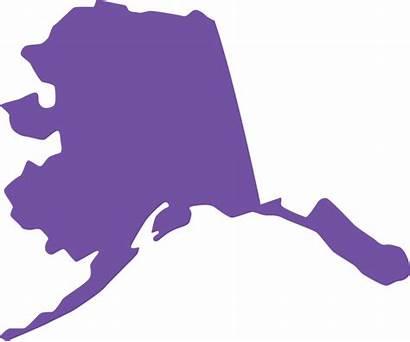Alaska State Shape Clipart Clip Silhouette Drill