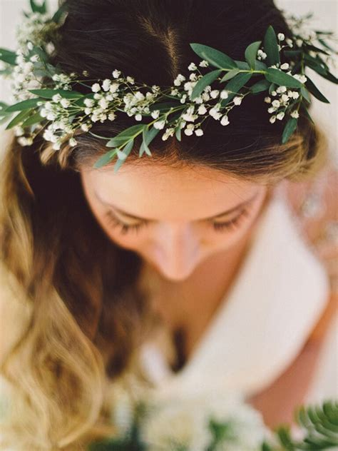 38 Dreamy Flower Bridal Crowns Perfect For Your Wedding