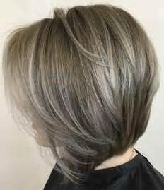 Medium Layered Bob Hairstyles with Highlights