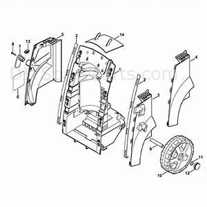 Stihl Re 143 Plus Pressure Washer  Re 143 Plus  Parts