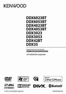 Kenwood Ddx4023bt Car Radio Download Manual For Free Now