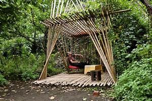 Objet Bambou Faire Soi Meme : abri de jardin maison cabane de jardin ou cabanon maison cr ative ~ Melissatoandfro.com Idées de Décoration