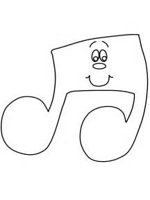 Music Notes Coloring Pages Printable