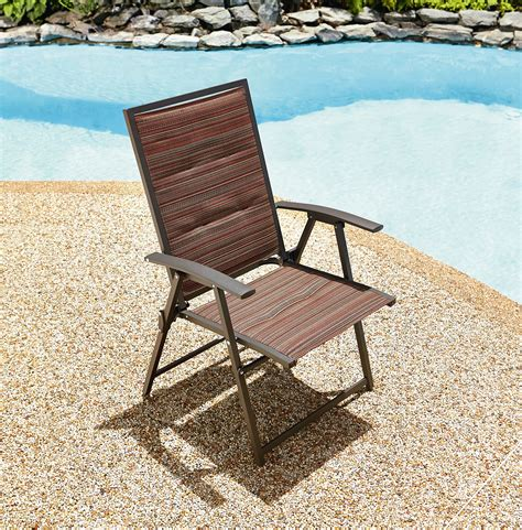 Ty Pennington Patio Furniture Palmetto by Ty Pennington Matching Folding Padded Sling Chair