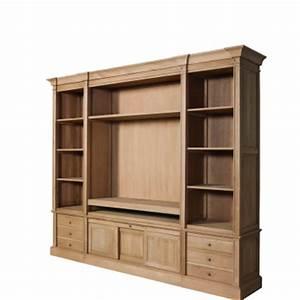 Meuble Tele Et Bibliotheque Solutions Pour La Dcoration