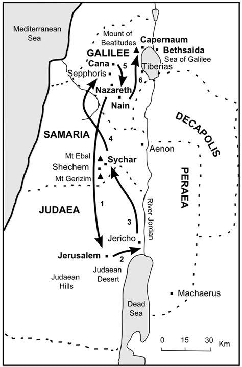 bible journey  jesuss journeys  galilee
