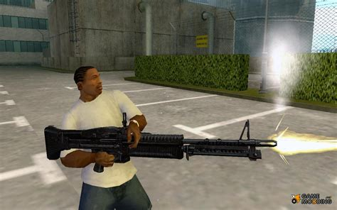 The M60e4 Machine Gun For Gta San Andreas