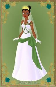 tiana wedding dress by kawaiibrit on deviantart With princess tiana wedding dress