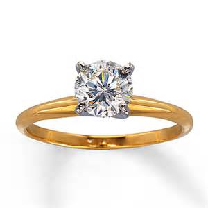 1 carat solitaire engagement ring jewelers 1 carat solitaire engagement ring in 14k yellow gold engagement ring wall