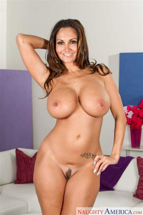 Ava Addams In Beautiful Dress Strips And Shows Her Amazing