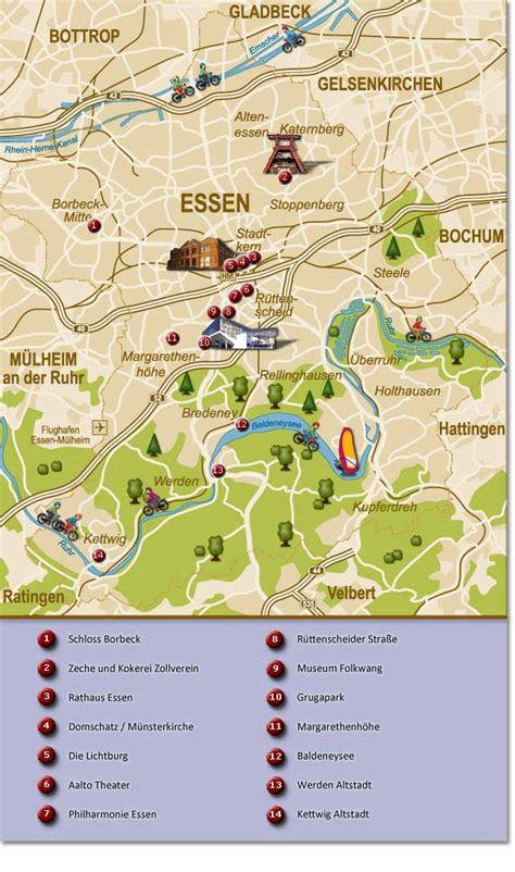 large essen maps     print high