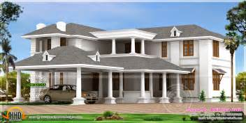 luxury home plans big luxury home design kerala home design and floor plans