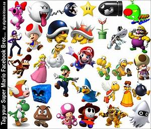 list of all mario characters ever made | Games Info