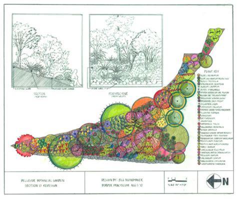 landscape plan view verterra landscape design portfolio