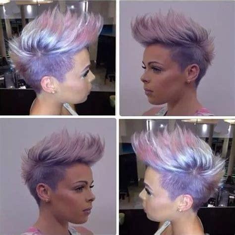 bunte haare kurz herrliche kurzhaarfrisuren mit sch 246 nen pastellt 246 nen neue frisur kurze haare frisuren
