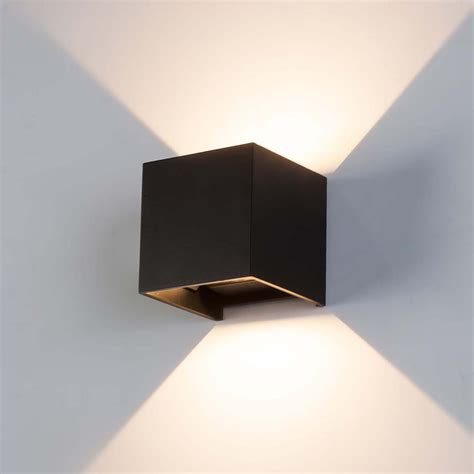 outdoor up down wall l wall sconce w led