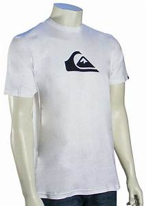Quiksilver Everyday Logo T-Shirt - White / Black For Sale ...