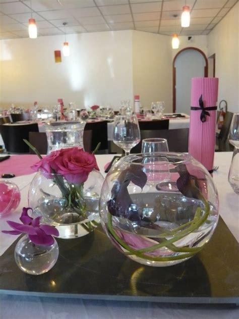 vases boules pour centre de table d un mariage th 232 me bulles decoration mariage theme des