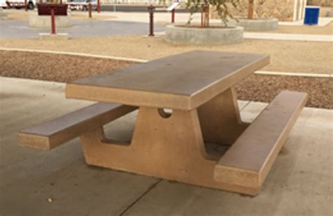 Cement Picnic Tables