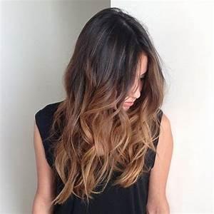 Balayage Cheveux Bouclés : cheveux long balayage new style for 2016 2017 ~ Dallasstarsshop.com Idées de Décoration