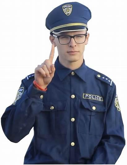 Cop Policeman Wolf Lone Trevor Disapproves Deviantart
