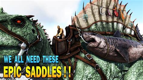ark saddles survival emporium evolved epic mod