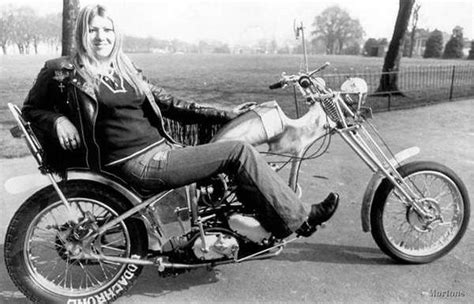 Another Rad Custom Bike From The 70s, And A Rider Who