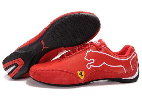Puma Ferrari Speed Cat Mens Shoes Red  Puma Ferrari Speed