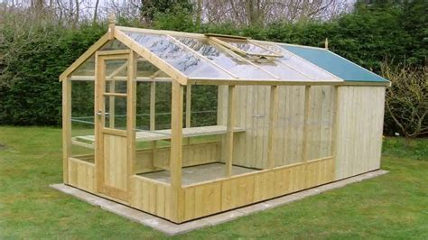 small wood frame greenhouse plans youtube