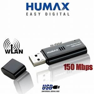 Wlan Zu Lan Adapter : humax wlan stick adapter usb 2 0 150mbit s f r receiver icord hd hd fox ew7711 ebay ~ Frokenaadalensverden.com Haus und Dekorationen
