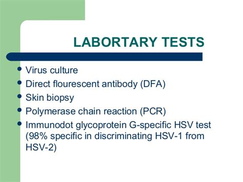 Herpes Viral Shedding Test by Herpes Simplex