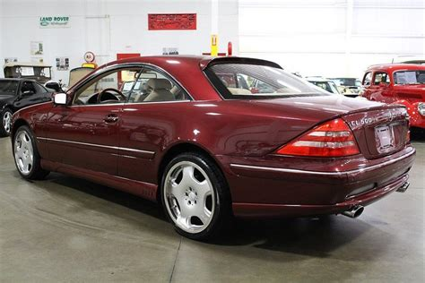 2000 Mercedes Cl 500 by 2000 Mercedes Cl500 Gr Auto Gallery