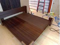 how to make a platform bed frame How to Build a Bamboo Platform Bed | HGTV