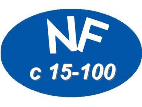 norme nfc 15 100 cuisine schema electrique