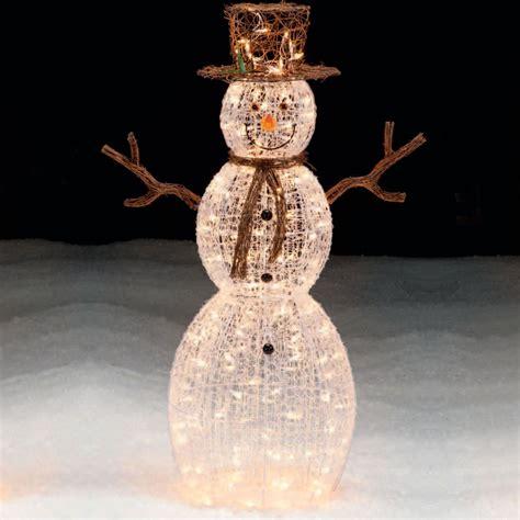Trim A Home 50 Lighted Snowman Outdoor Christmas