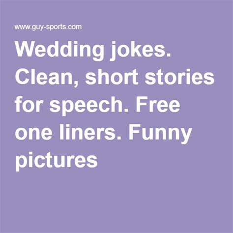 Ee  Wedding Ee   Jokes Clean Short Stories For S Ch Free One