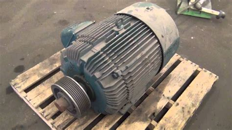 Second Electric Motors by Used Reliance Electric 50 Hp Duty Master A C Motor