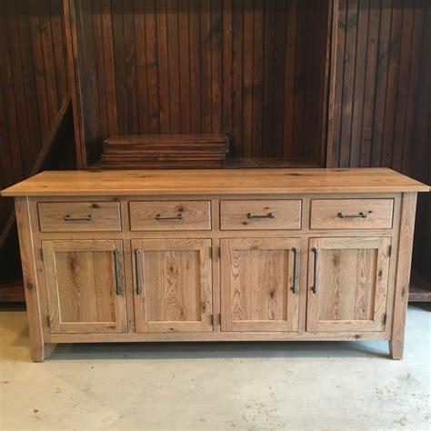 rustic oak buffet furniture   barn