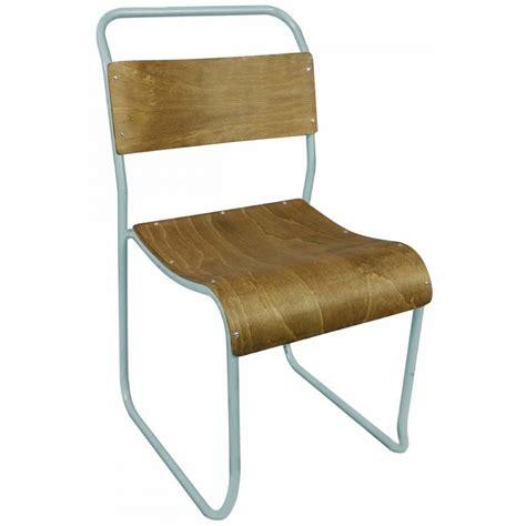 chaise metal vintage chaise vintage bois et métal avior par drawer