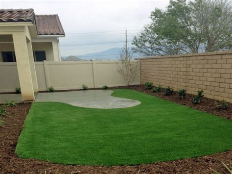 Backyard Business Ideas - artificial grass orange california roof top front yard