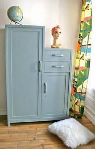 Armoire Parisienne Vintage : vintage and armoires on pinterest ~ Teatrodelosmanantiales.com Idées de Décoration