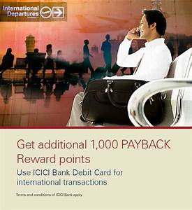 Payback Visa Card Abrechnung : debit card offer 1000 payback reward points on international transactions icici bank ~ Themetempest.com Abrechnung