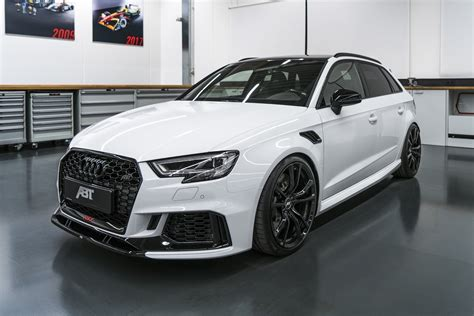 audi rs3 tuning abt s audi rs3 sportback is a 500ps hatch carscoops