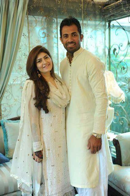 wahab riaz  wife zainab wahab celebrity gossips