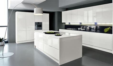 cuisine blanche contemporaine la cuisine blanche le des cuisines