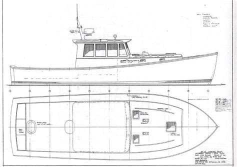 lobster boat drawing google search images pinterest