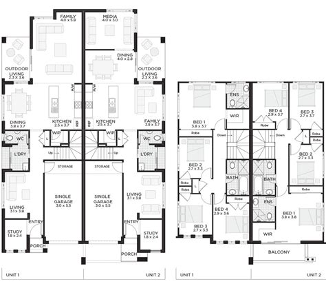 house plans by lot size narrow lot row house plans