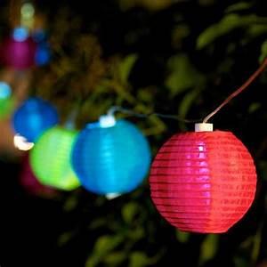 Boule Led Exterieur : guirlande lumineuse exterieur ~ Teatrodelosmanantiales.com Idées de Décoration